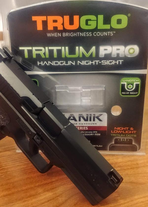 TruGlo Tritium Pro Night Sights – Canik Fanatik